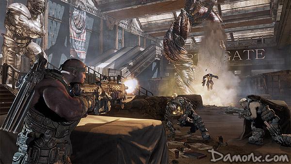 [Preview] Mode Histoire et Coop de Gears of War 3 !!!