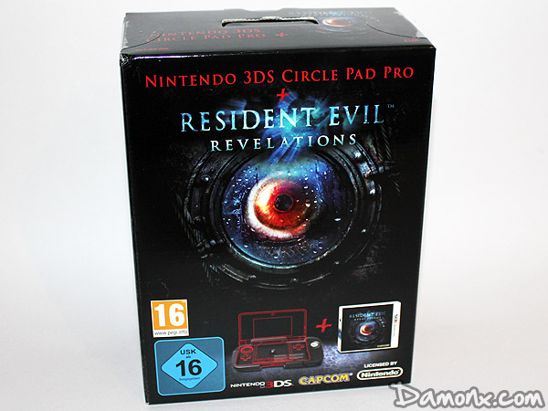 Resident Evil Revelations 3DS + Circle Pad Pro