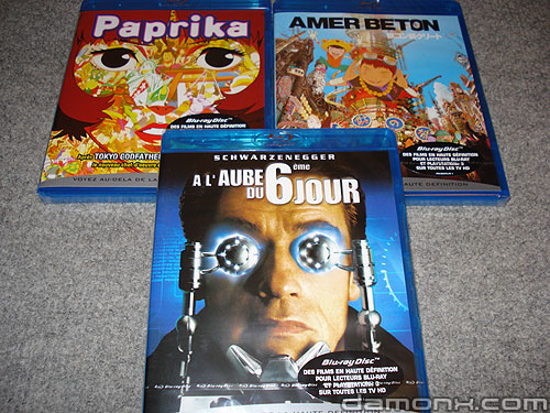3 Blu Ray Offre Spéciale