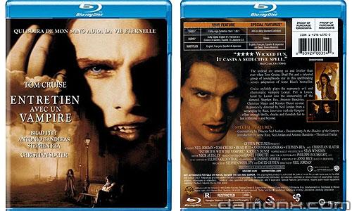 Blu Ray Entretien avec un Vampire