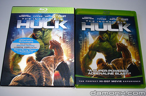 Blu Ray L'incroyable Hulk