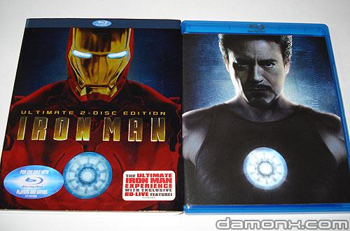 Blu Ray Iron Man