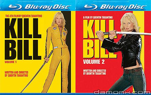 Blu Ray Kill Bill Volume 1 et 2