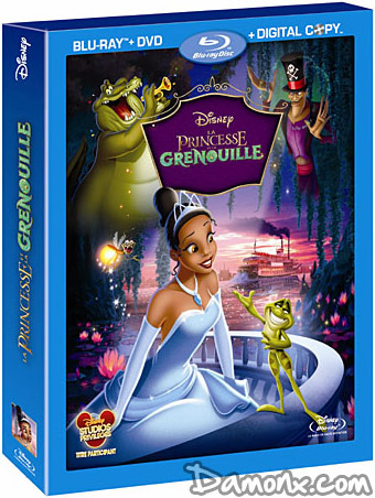 Pré Commande Blu Ray La Princesse Et La Grenouille Blu Ray