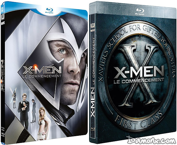 Blu Ray X-Men : Le Commencement