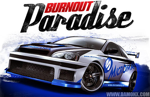 la voiture burnout paradise micromania jeux vid o. Black Bedroom Furniture Sets. Home Design Ideas