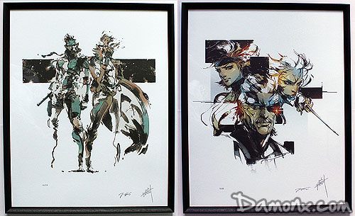 Lithographies Limitées Metal Gear Solid 1 & 4