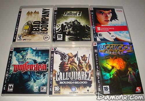 Ma collection de jeux ps3 septembre 2009 collections - Jeux qui ne prennent pas beaucoup de place ...