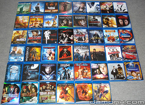 Collection Blu Ray Juin 2008