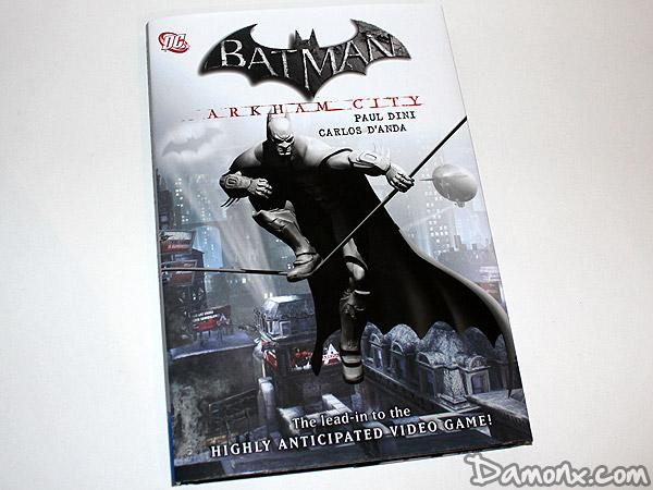 Comic Book de Batman Arkham City