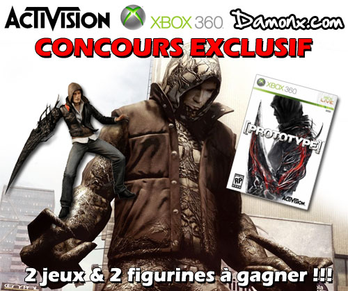 concours exclu jeux figurines prototype a gagner concours. Black Bedroom Furniture Sets. Home Design Ideas