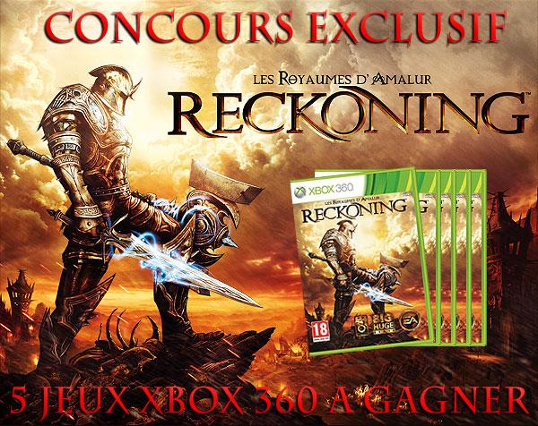 5 Jeux Reckoning sur Xbox 360 à Gagner !