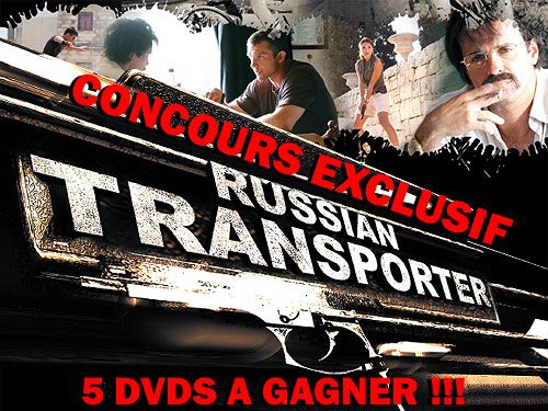 concours exclusif russian transporter 5 dvds gagner concours. Black Bedroom Furniture Sets. Home Design Ideas