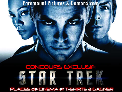 Concours Exclusif - Star Trek Le Film