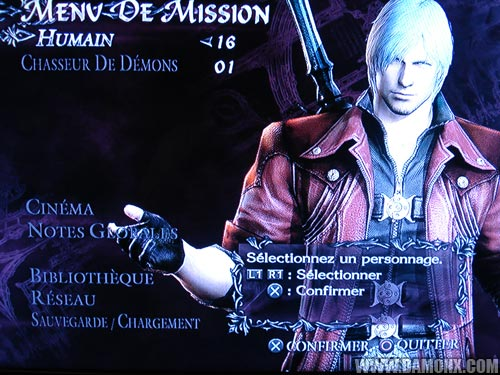 Dante dans Devil May Cry 4
