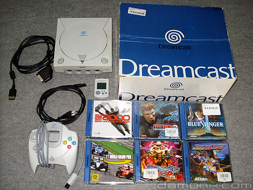 Console et Jeux Dreamcast