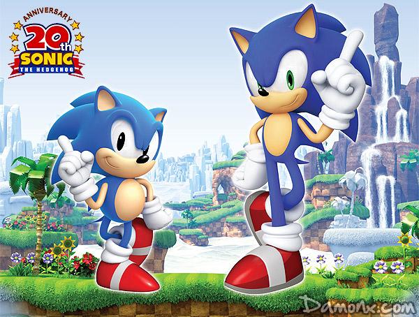 Bon Anniversaire Sonic Ptain 20 Ans Jeux Vidéo