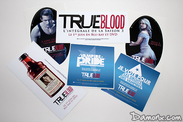 Bouteille de la Série True Blood