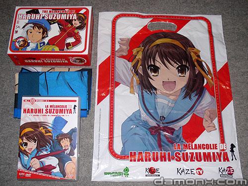 DVD La Mélancolie de Haruhi Suzumiya - Edition Limitée