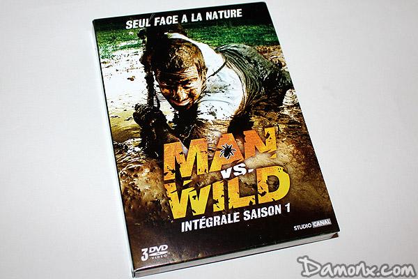 test dvd man vs wild seul face la nature saison 1 non class. Black Bedroom Furniture Sets. Home Design Ideas