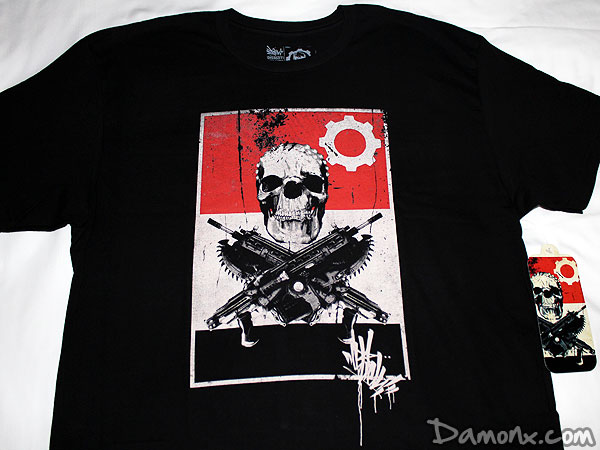 T-Shirt Edition Limitée Gears of War 3 X OG Slick
