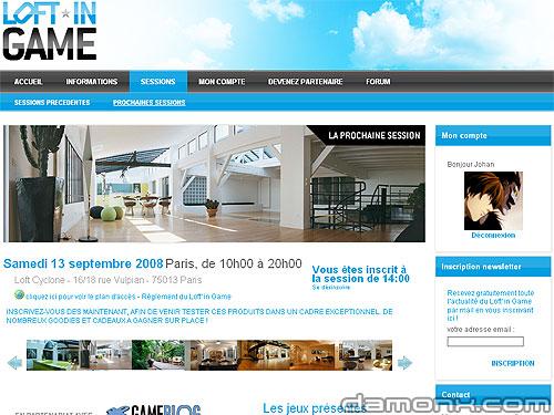 Loft'in Game Deuxième Edition En Septembre à Paris