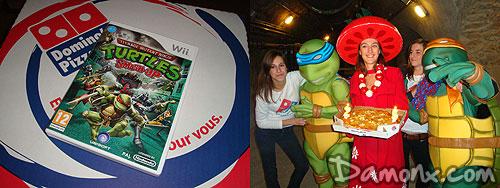 compte rendu soire dominos pizza 25 ans des tortues ninjas