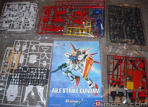 Maquette Aile Strike Gundam Seed 1/100 Bandai