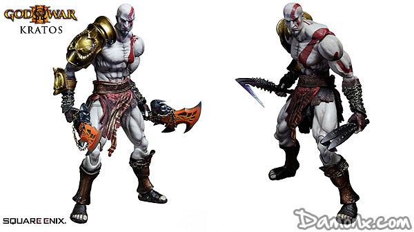 Figurine God of War III Play Arts Kai – Kratos
