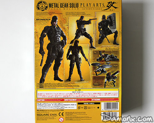 Figurine Play Arts Snake Metal Gear Solid