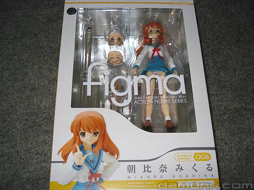 Figurine Figma - Mikuru Asahina