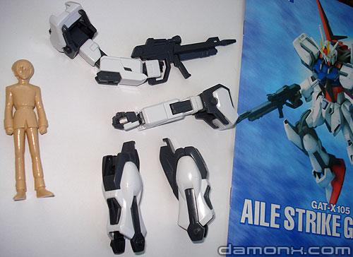 Montage du Aile Strike Gundam - Partie 1