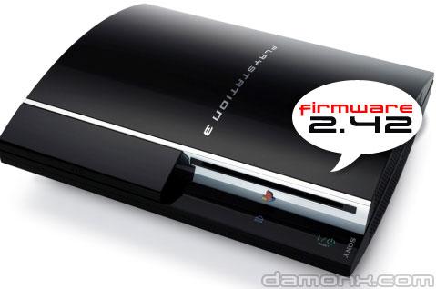 PS3 - Mise à Jour Firmware 2.42