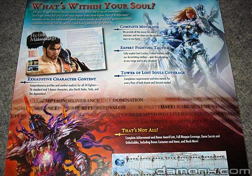 Guide Bradygames Soul Calibur IV