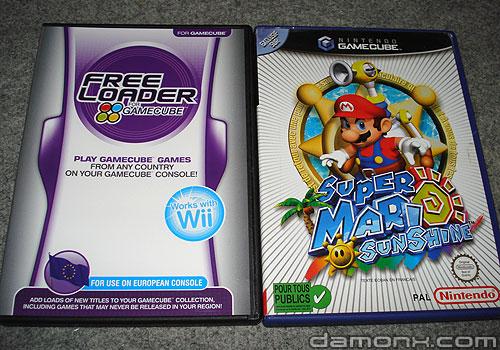 Freeloader et Super Mario Sunshine GC
