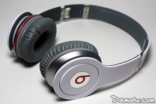 Casque Monster Beats by Dr Dre Solo HD Blanc