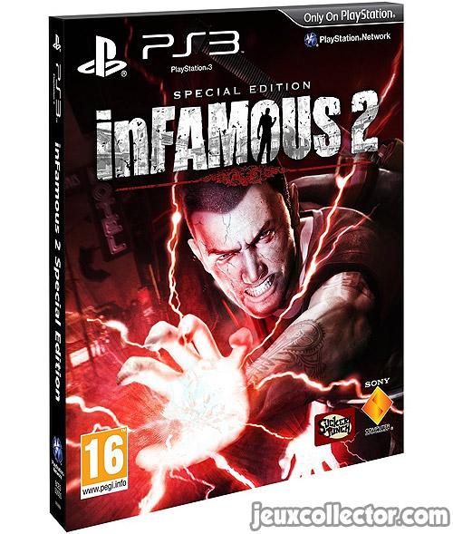 inFamous 2 Édition Spéciale PS3