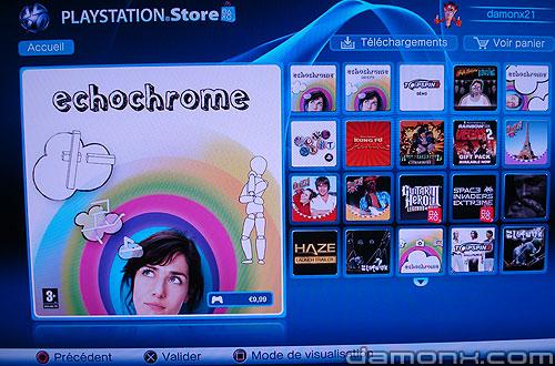 Mise à Jour PS Store 10 Juillet 2008