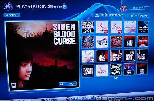 Mise à Jour PS Store 31 Juillet 2008
