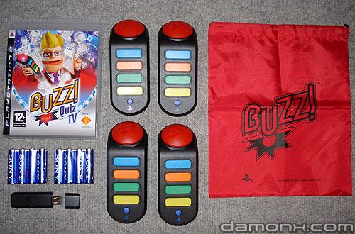 Buzz Quizz TV + Buzzers Sans Fil sur PS3
