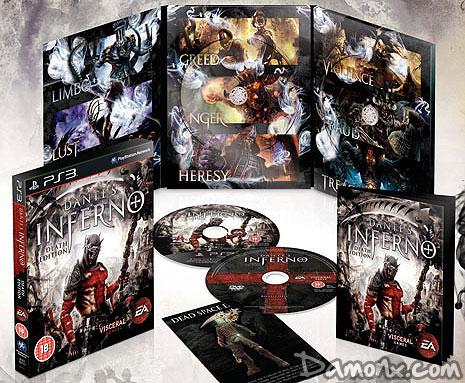 Pré-commande] Dante's Inferno Death Edition sur PS3