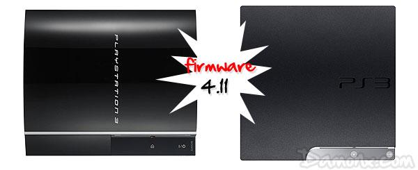 PS3 – Mise à Jour Firmware 4.11