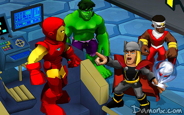 72e Trophée Platine : Marvel Super Hero Squad : Comic Combat