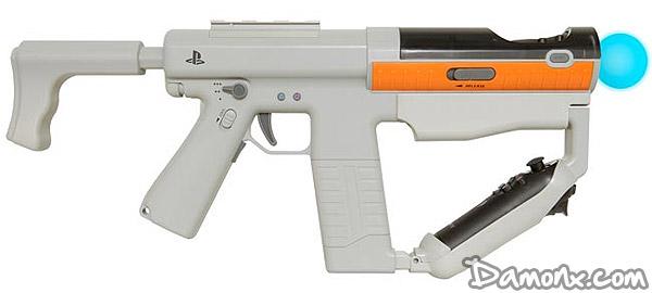 test fusil playstation move sharp shooter jeux vid o. Black Bedroom Furniture Sets. Home Design Ideas