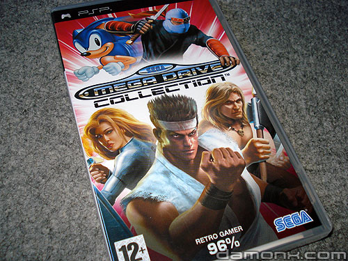 Sega Mega Drive Collection sur PSP