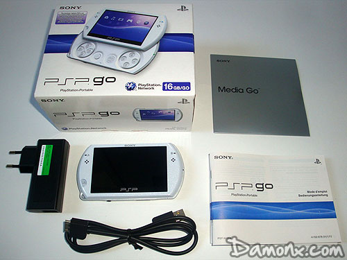 Déballages et Photos PSP Go White