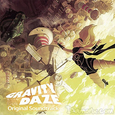 OST du Jeu PS Vita Gravity Rush/Daze