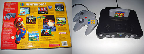 Console Retro Nintendo 64