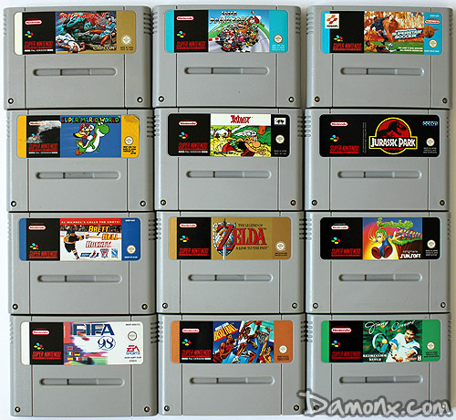 achat brocante super nintendo 21 jeux retrogaming. Black Bedroom Furniture Sets. Home Design Ideas