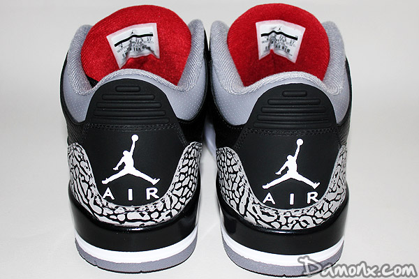 Sneakers - Air Jordan III (3) Black Cement